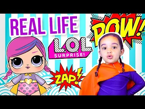 REAL LIFE LOL SURPRISE DOLL - 7 LAYERS OF FUN HACKS - DIY LOL SURPRISE DOLL