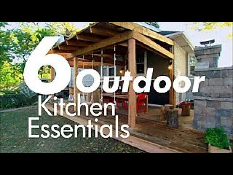 6 Incredible Outdoor Kitchens Diy Network Youtube