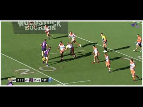 NRL Auckland Nines 2017 | Wests Tigers v Storm | Game 14 | HD Match Highlights | Rugby League