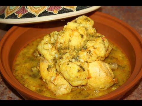 recette-tagine-de-poulet-au-chou-fleur---chicken-tagine-with-cauliflower-recipe---recettes-maroc