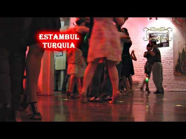 Istambul, Milongueando en  Milonga 333, Tango in Turquia