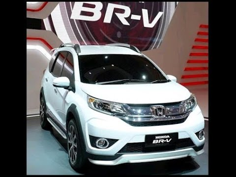 All New 2017 Honda Br V Price Top Seped New 2017 Youtube
