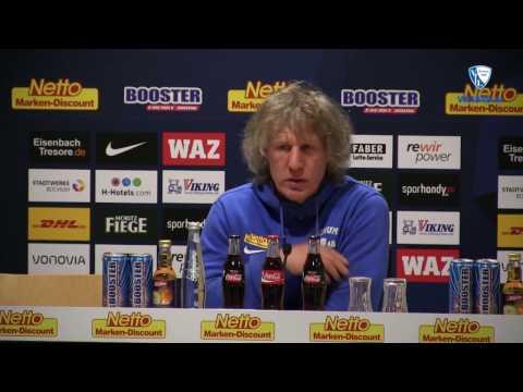 Die Pressekonferenz vor der Partie 1. FC Heidenheim - VfL Bochum 1848