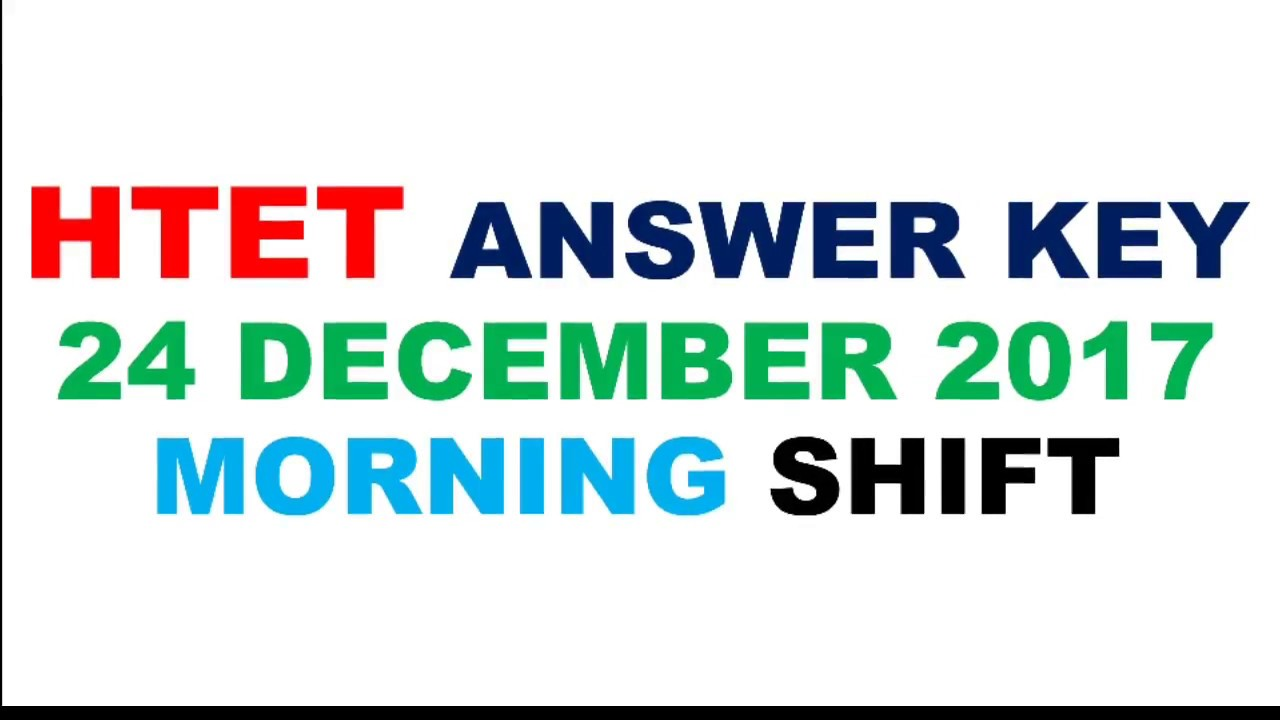 htet level 2 answer key with detailed solution htet answer key 24