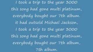 Busted-Year 3000 with lyrics