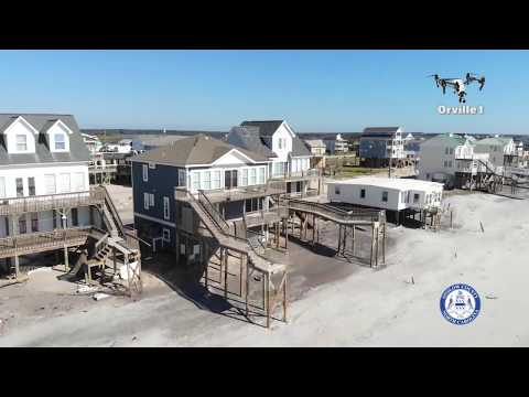 Disaster Assessment Onslow County North Topsail Beach Sept 19, 2018