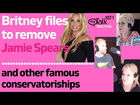 Britney Files to Remove Jamie Spears from Conservatorship and other Famous Conservatorships