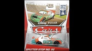 The whole Disney Cars 2013 Piston cup diecast series ranked worst to best-Part 3-Finale