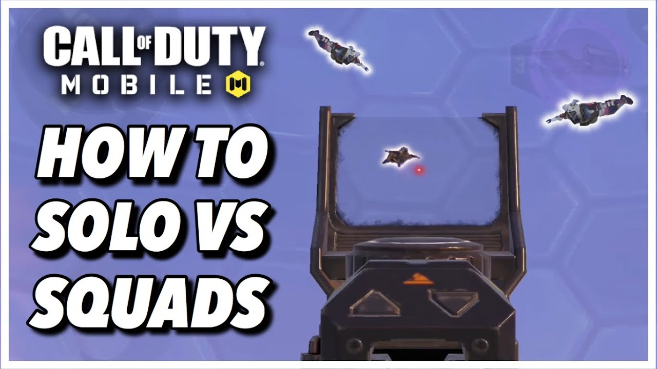 How To Win Solo VS Squads Against Aggressive Enemies in Call of Duty Mobile | Tips & Tricks