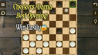 Checkers/Dama:Best opening trap - Tips and Tricks easy win. screenshot 4