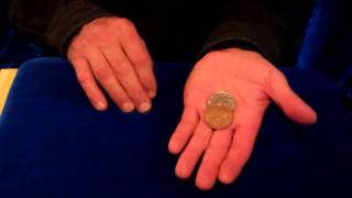 Coins That Change in Your Hand- Copper Silver Trick Coin Set