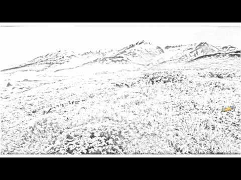 Auto Draw 2: Alsek River Valley, British Columbia, Canada