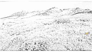Auto Draw 2: Alsek River Valley, British Columbia, Canada