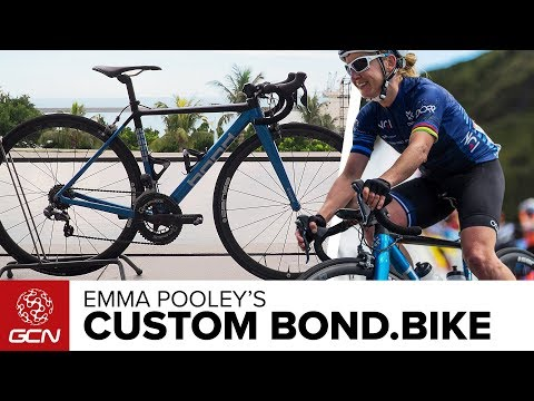 Emma Pooley's Custom Bond.Bike
