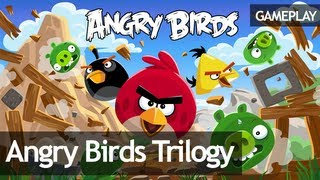 Angry Birds Trilogy - Gameplay