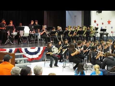 Rincon Middle School Advanced Band: 2013-2014: On the Wings of Swallows