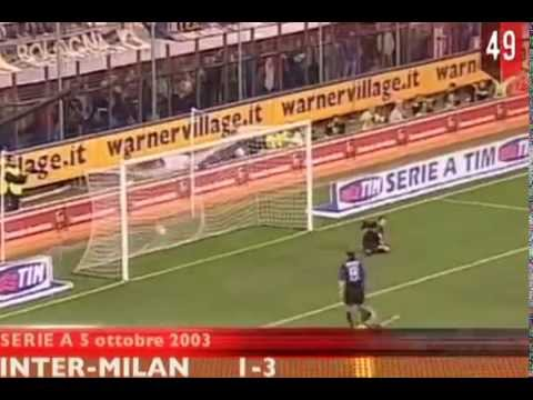 Filippo Inzaghi   All the goals for AC Milan