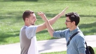 MISSING HIGH FIVES PRANK!!
