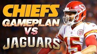 Kansas City Chiefs Gameplan vs Jacksonville Jaguars | Patrick Mahomes Jalen Ramsey Tyreek Hill | NFL