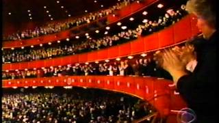 Kennedy Center Honors - tribute to Andre Previn, presentation by Mia Farrow