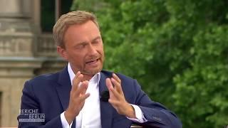 ARD-Sommerinterview mit Christian Lindner, FDP