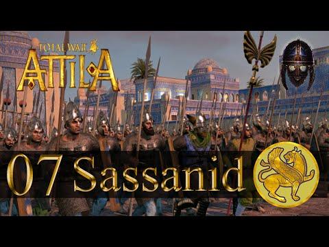Total War Attila :: Sassanid Campaign : Part 7 - Roman Navie