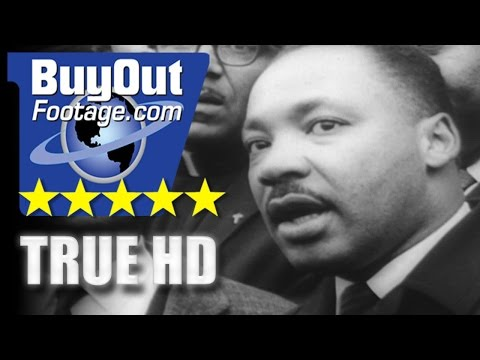 HD Historic Stock Footage - CIVIL RIGHTS MARCH SELMA ALABAMA 1965