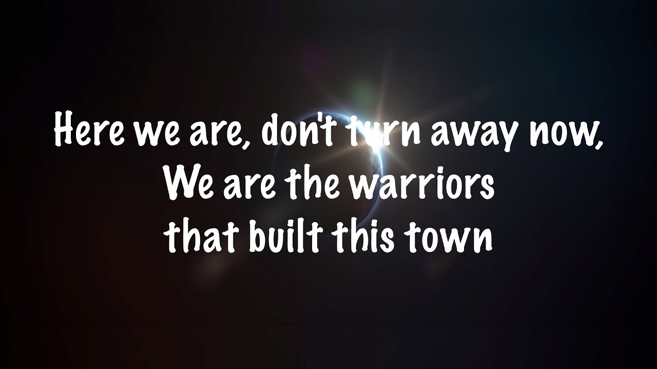 Imagine Dragons Warriors Lyrics Youtube