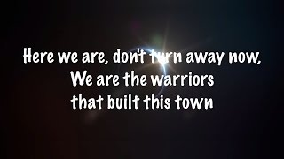 Repeat youtube video Imagine Dragons - Warriors (Lyrics)