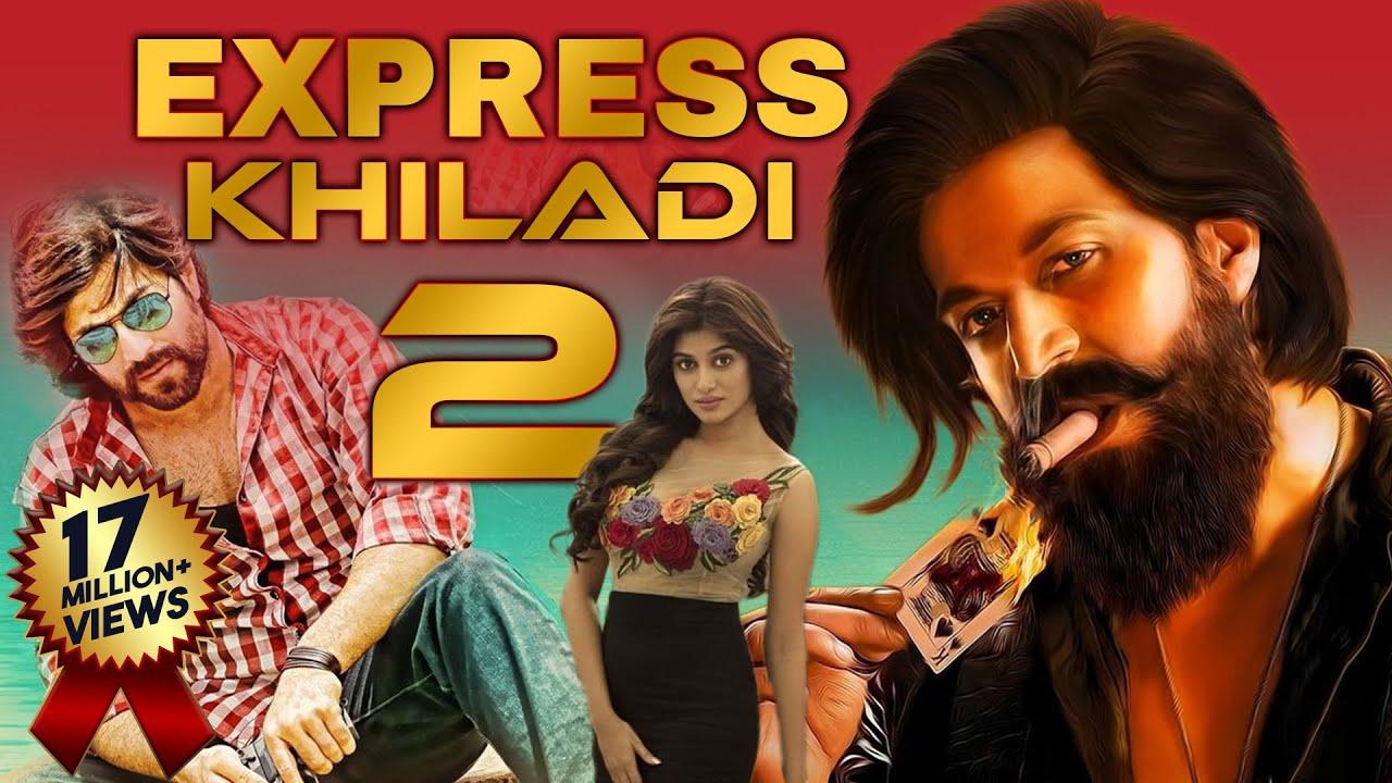 "Yash Ki Superhit Romantic Hindi Dubbed Movie ""EXPRESS KHILADI 2""   South Movie   Hindi Dubbed Movies"