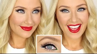 Christmas Inspired Makeup Tutorial! Thumbnail