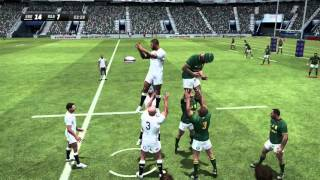 Rugby Challenge 3 Gameplay - England vs South Africa (Highly Requested)