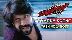 Yash Super Comedy Scenes   Suhasini scolds Yash Comedy Scenes   Masterpiece Kannada Movie