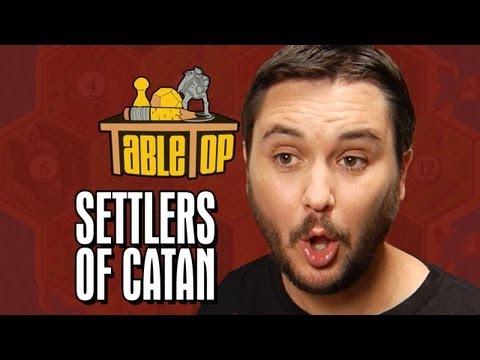 Settlers of Catan: Wil Wheaton, Jane Espenson, James Kyson, Neil Grayston. TableTop Episode 2