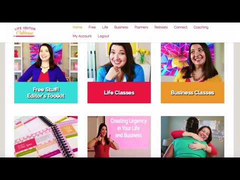 Behind the Scenes: Life Editor Academy Membership Site Tour