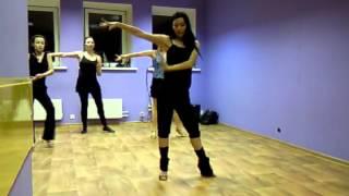 Тренировка румба (схема танца)