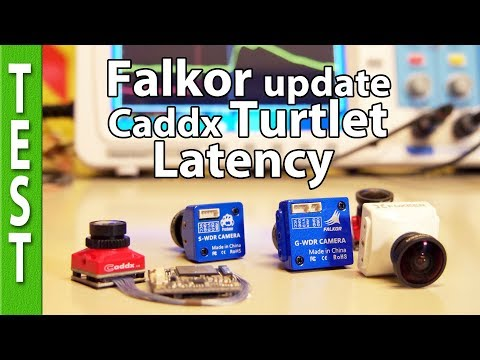 Foxeer FALKOR update, Caddx TURTLET Latency