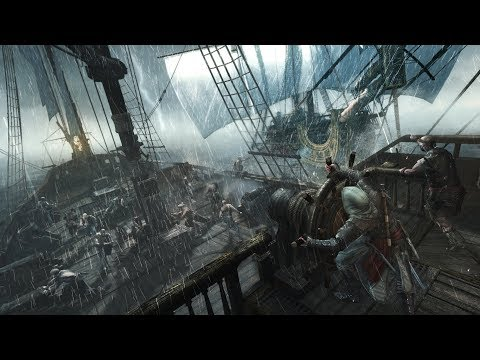 Black Flag Pirate Cosplay Livestream! Drinking Rum and Legendary Ships! Ultra 1080p/60fps