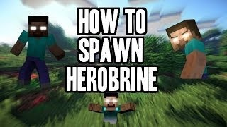 How to spawn herobrine in minecraft 1.8.9
