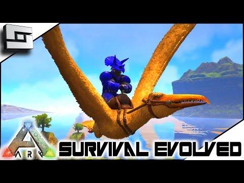 ARK: Survival Evolved - TAMING A PELAGORNIS! S4E43 ( The Center Map Gameplay )
