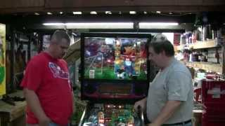 Bally WORLD CUP SOCCER Pinball Machine that GLISTENS!  LOOK!  TNT Amusements