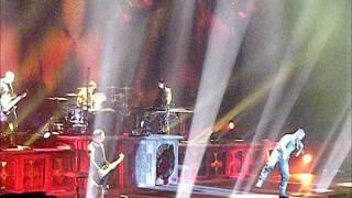 RAMMSTEIN, Metro Radio Arena, Newcastle, February 2012, 'SEHNSUCHT'