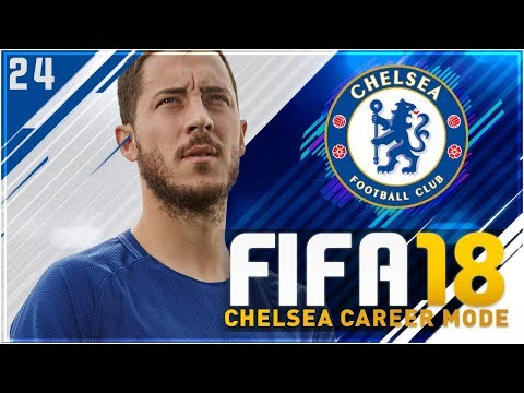 FIFA 18 Chelsea Career Mode Ep24 - FREE SCORING UCL GAME!!
