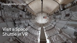 Inside Space Shuttle Discovery 360 | National Air and Space Museum