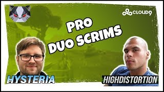 Hysteria | Fortnite Battle Royale - Pro Duo Scrims with High Distortion
