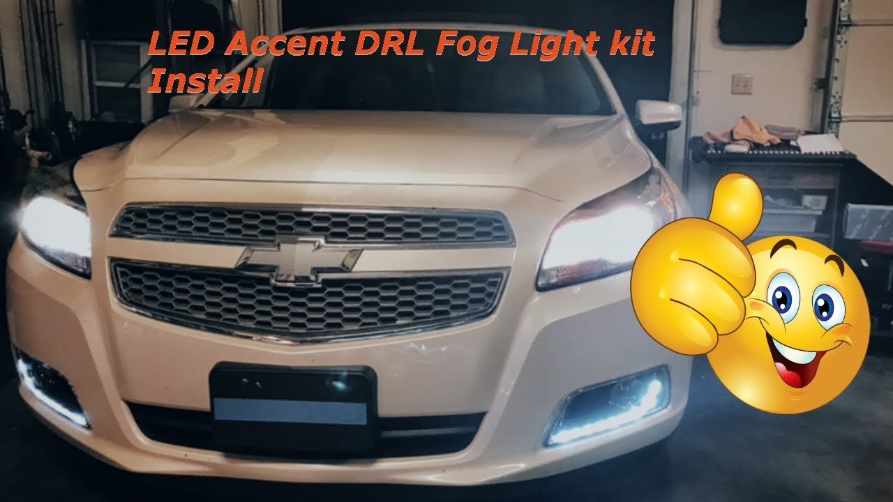 Led Drl Accent Fog Light Kit Install
