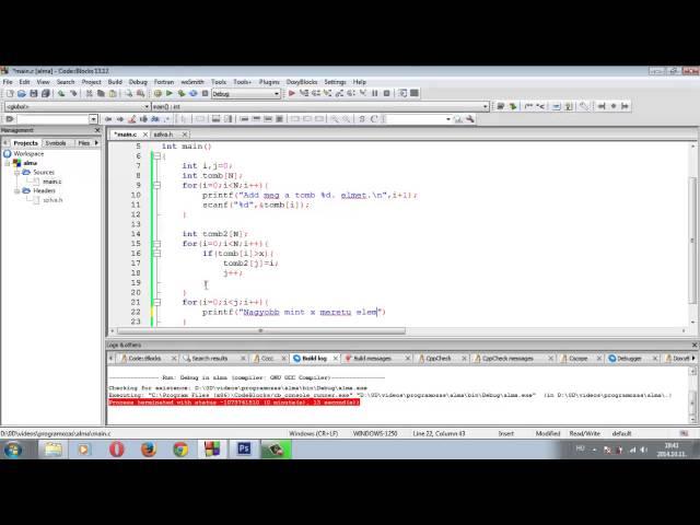 Programozási Tételek - Kiválogatás
