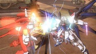 Dynasty Warriors: Gundam 3 - Strike Freedom Gundam gameplay