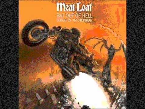 Meatloaf- All Revved Up With No Place To Go (Bat Out of Hell) with lyrics