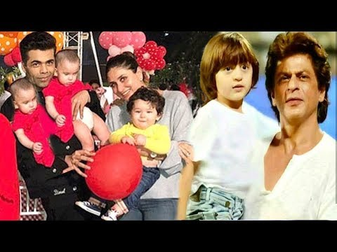 Karan Johar's Kids 1st Birthday Party 2018 Full Video: SRK-Abram,Kareena-Taimur,Aishwarya-Aaradhya